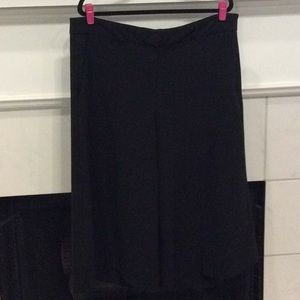 NWOT Lane Bryant Black Dress Gauchos 20